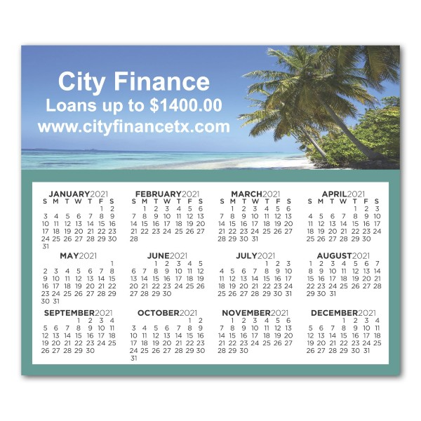 Promotional Year Magnetic Calendars