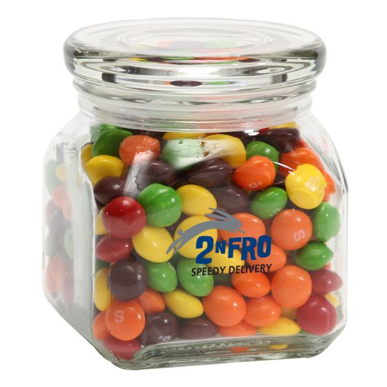 Promotional Skittles in Sm Glass Jar