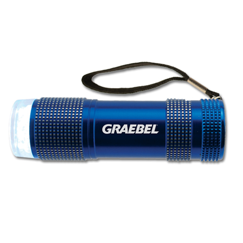 Promotional Sport Flashlight - 9 LED