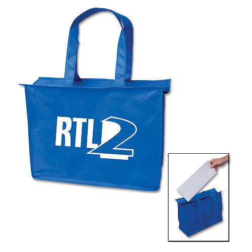 Promotional Medium Zipper Tote Bag