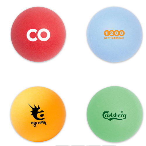 Promotional Colored Ping Pong Ball