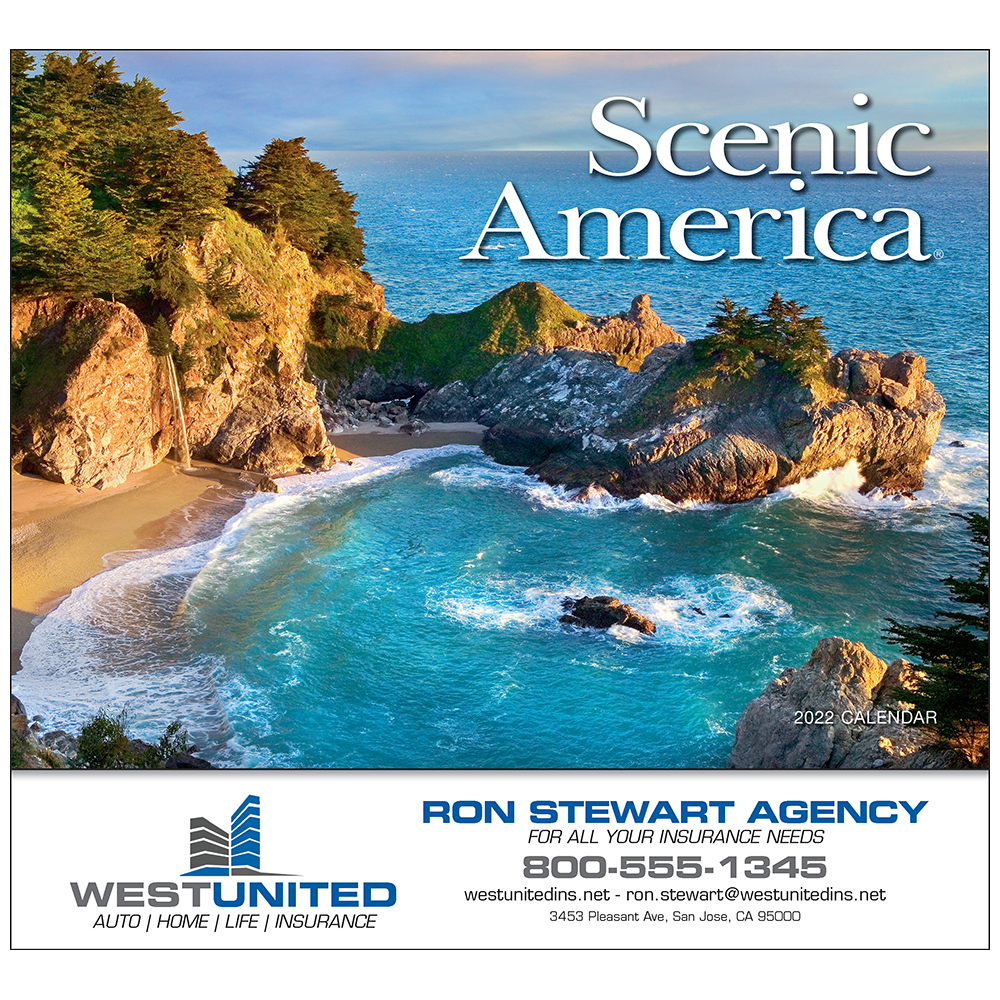 Promotional Scenic America Wall Calendar