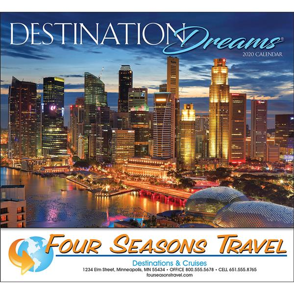 Promotional Destination Dreams Calendar
