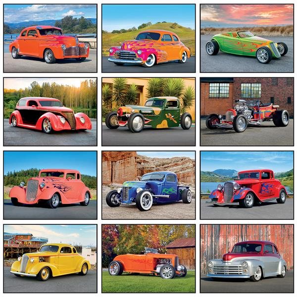 View Image 3 of Street Rod Fever Calendar