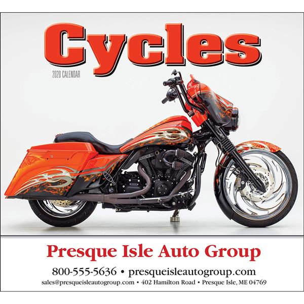 Promotional Custom Cycles Calendar
