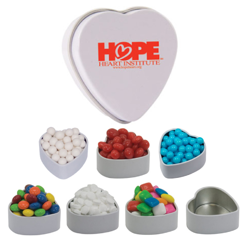 Promotional Small Heart Tin