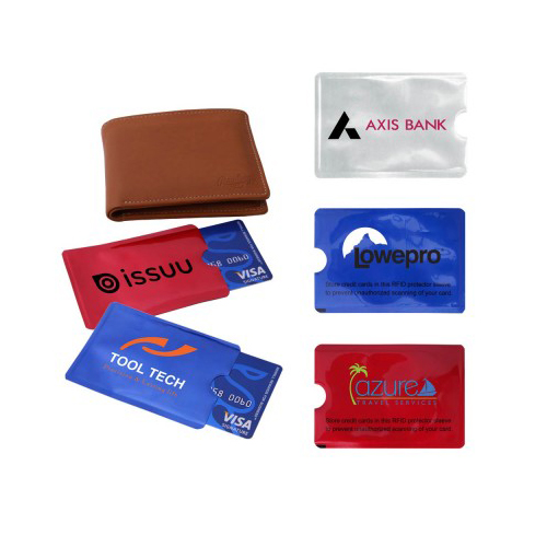 Promotional RFID Credit Card Protector Sleeve