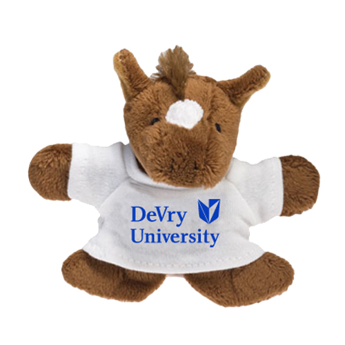 Promotional Horse Plush Magnet