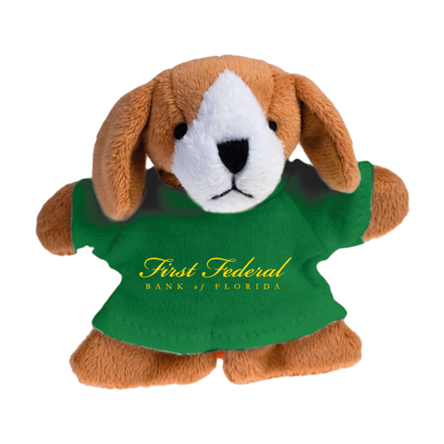 Promotional Dog Plush Magnet