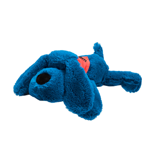 Promotional Plush Dog- Neon Blue