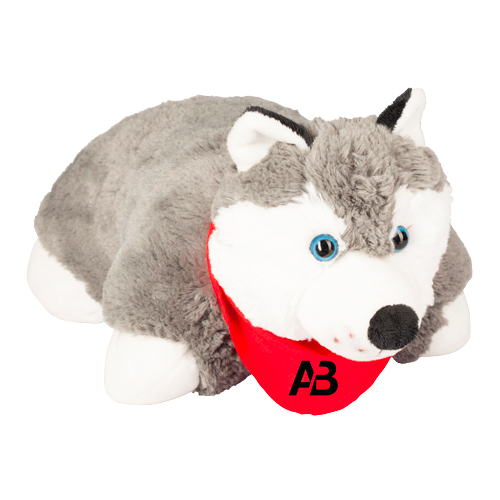 Promotional Wolf-Pillow Pals