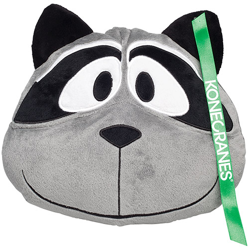 Promotional Raccoon Zoo Pillow