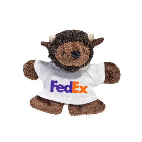 Promotional Buffalo Plush Magnet