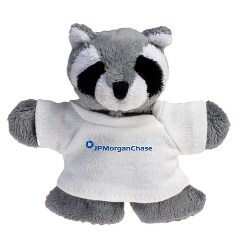 Promotional Raccoon Plush Magnet