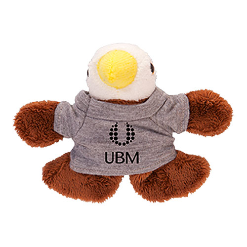 Promotional Eagle Plush Magnet