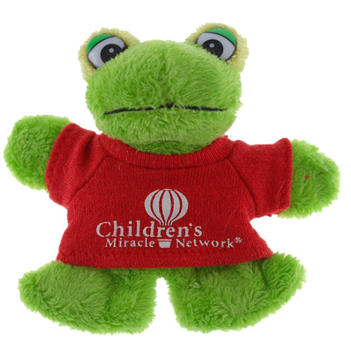 Promotional Frog Plush Magnet