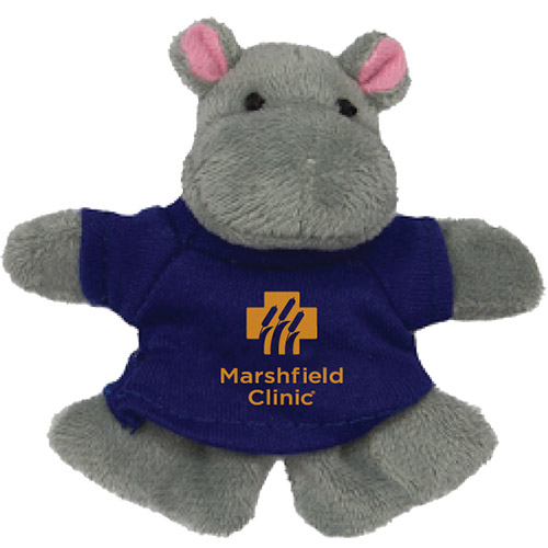 Promotional Hippo Plush Magnet