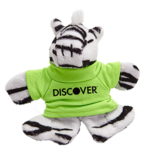 Promotional Zebra Plush Magnet