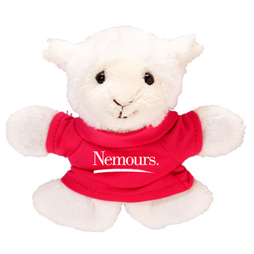 Promotional Lamb Plush Magnet