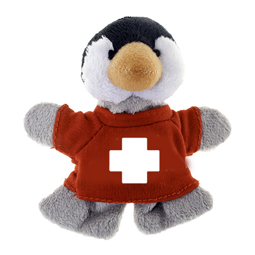 Promotional Penguin Plush Magnet