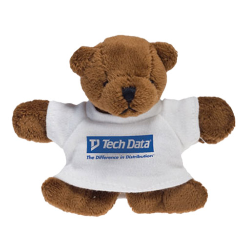 Promotional Brown Bear Plush Magnet