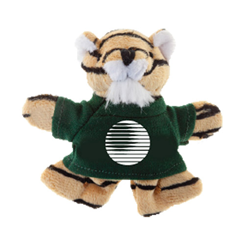 Promotional Tiger Plush Magnet