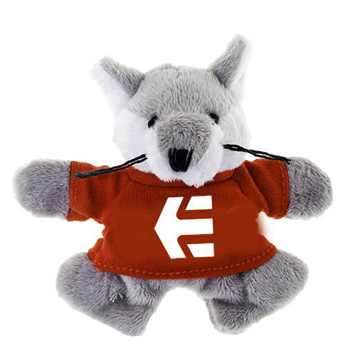 Promotional Wolf Plush Magnet