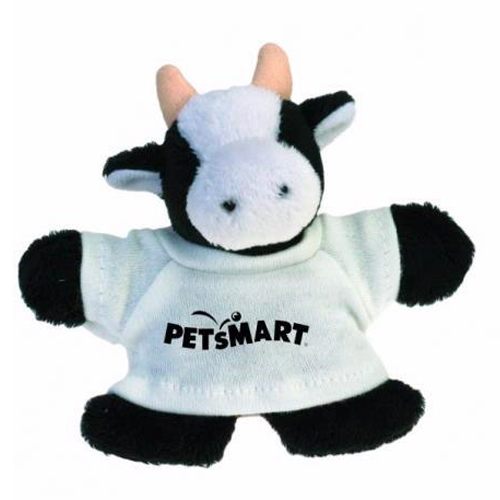 View Image 2 of Cow Plush Magnet