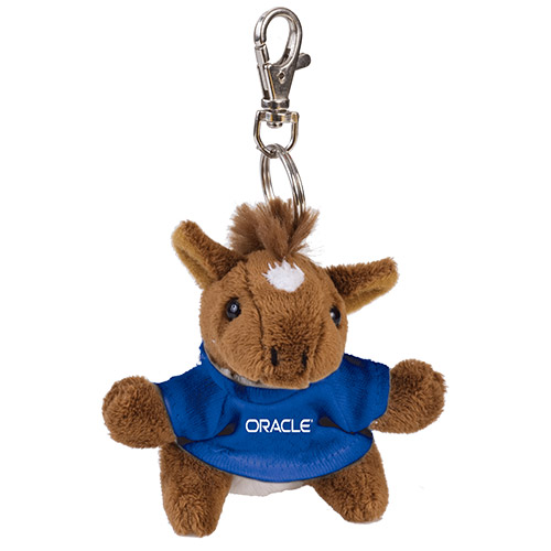 View Image 2 of Brown Bear-Plush Keychain