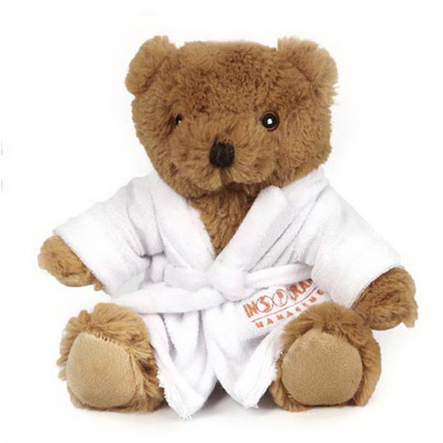Promotional Alpine Bear with Bathrobe