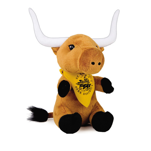 View Image 2 of Super Soft Stuffed Animal - Longhorn