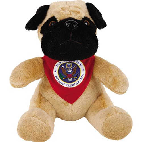 Promotional Super Soft Pug