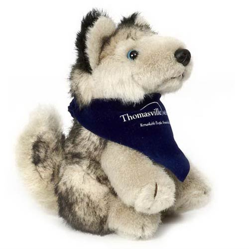 Promotional Husky Plush Toy