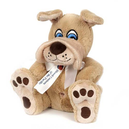 Promotional Nature Paw Stuffed Bulldog