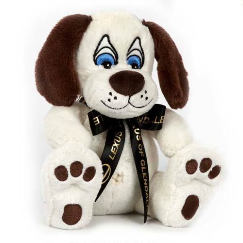 Promotional Nature Paw Stuffed Puppy Dog