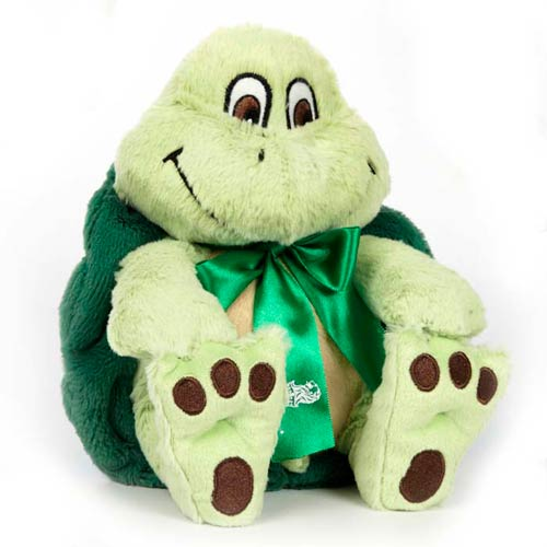 Promotional Nature Paw Stuffed Turtle