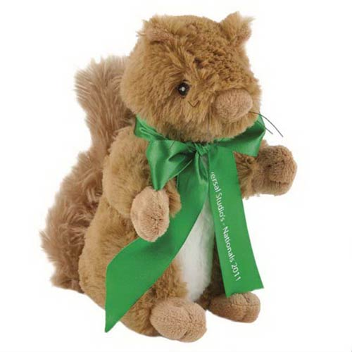 View Image 2 of Brown Squirrel Plush