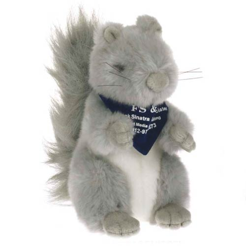View Image 2 of Plush Gray Squirrel