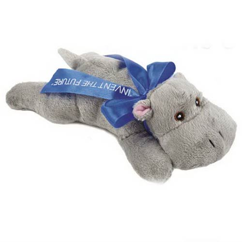Laying Beanie Hippo