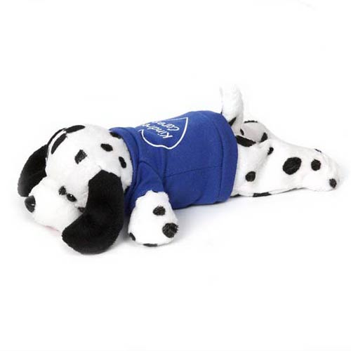 Promotional Laying Beanie Dalmatian