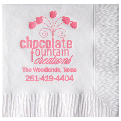 White 2-Ply Beverage Napkins