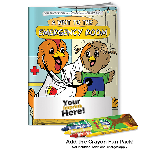 A Visit to the Emergency Room Coloring Book