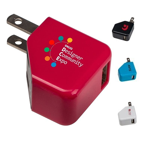 Promotional Foldable Mini Wall Charger