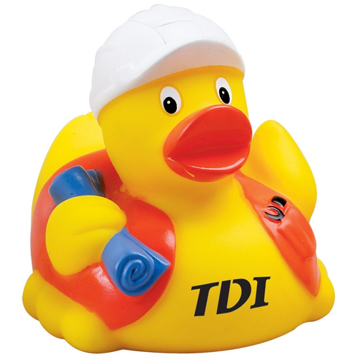 Promotional Construction Rubber Duck