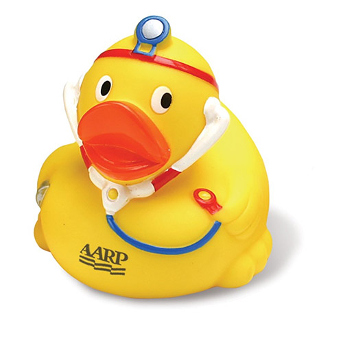 Promotional Rubber Duck-Doctor