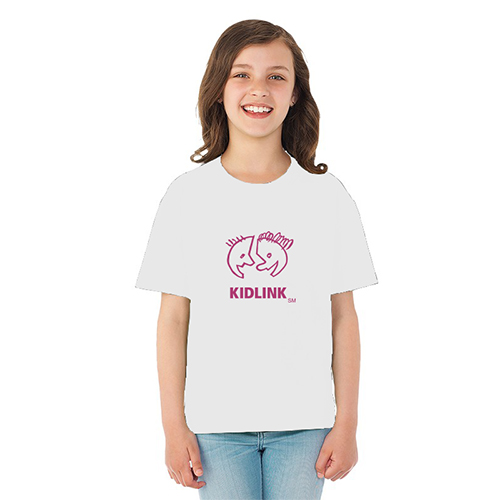 Promotional Fruit of the Loom® HD Cotton Youth T-Shirt - White