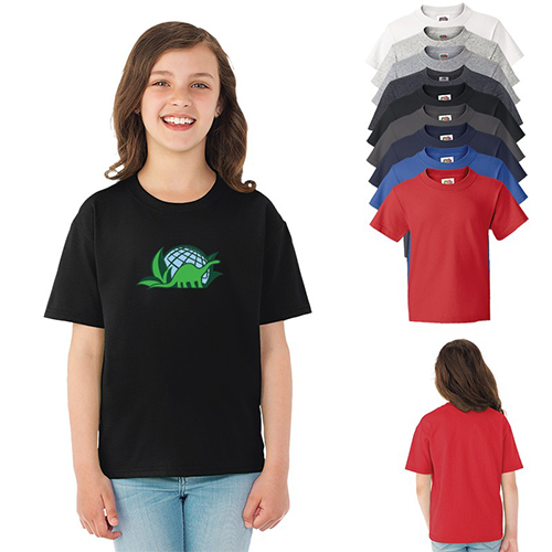 Promotional Fruit of the Loom® HD Cotton Youth T-Shirt - Colors