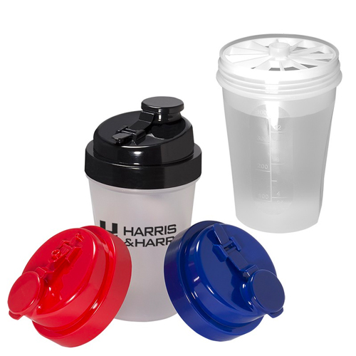 Promotional Mini Fitness Shaker - 12oz.