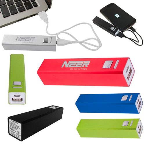 Promotional Metal Power Bank Charger