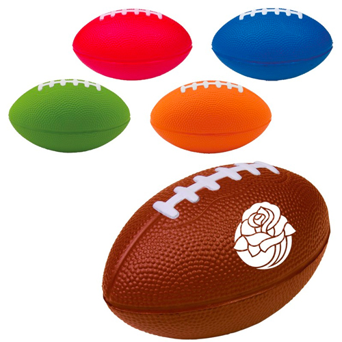 Promotional Football Stress Reliever - 5